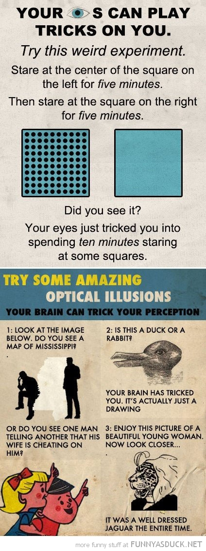 eyes play tricks on you optical illusions funny pics pictures pic picture image photo images photos lol
