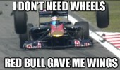 f1 race car crash don't need wheels red bull wings funny pics pictures pic picture image photo images photos lol