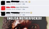facebook status bad grammar poor spelling samuel l jackson pulp fiction english motherfucker do you speak it funny pics pictures pic picture image photo images photos lol