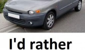 fiat multipla car rather walk ugly funny pics pictures pic picture image photo images photos lol