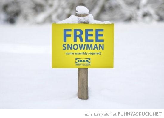Free Snowman
