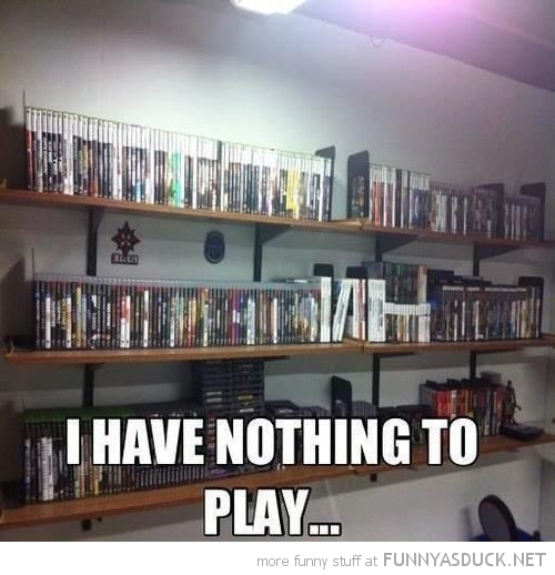 I Have Nothing To Play