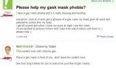 gas mask phobia yahoo answers comment funny pics pictures pic picture image photo images photos lol