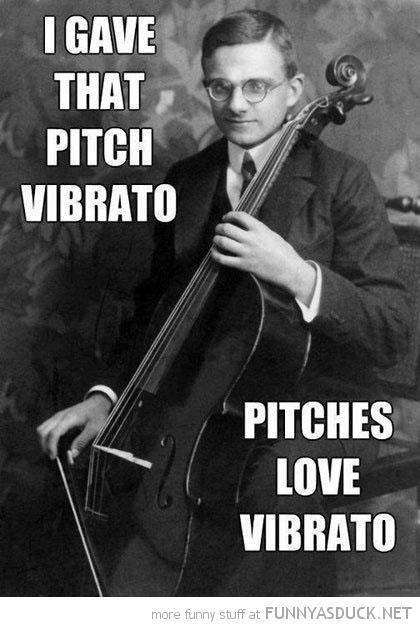 Gave That Pitch Vibrato