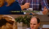 george seinfeld not you it's me tv scene funny pics pictures pic picture image photo images photos lol