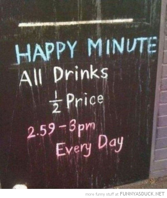 happy minute pub bar sign funny pics pictures pic picture image photo images photos lol