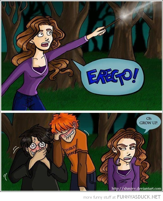 harry potter hermione erecto laughing comic funny pics pictures pic picture image photo images photos lol