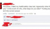 health safety test fire large steps facebook status funny pics pictures pic picture image photo images photos lol