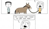 hey baby nice ass comic donkey funny pics pictures pic picture image photo images photos lol
