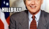 hilary bill clinton mashed together hillbilly funny pics pictures pic picture image photo images photos lol
