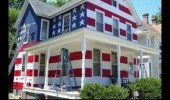 homeowners association said couldn't have flag american painted house funny pics pictures pic picture image photo images photos lol
