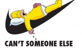 homer simpson nike logo can't somebody else do it funny pics pictures pic picture image photo images photos lol