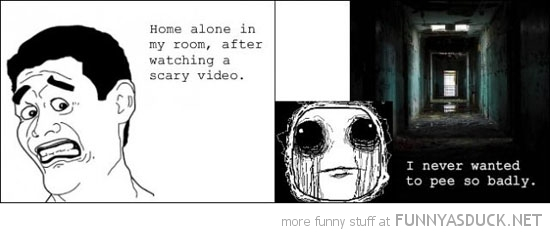 horror movie scared go toilet bathroom rage comic meme funny pics pictures pic picture image photo images photos lol