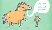 horse poo help you grow flower comic funny pics pictures pic picture image photo images photos lol