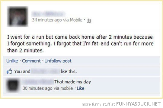 i'm far only run 2 minutes facebook status funny pics pictures pic picture image photo images photos lol