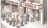 inconvenient truth reassuring lie movie theater line comic funny pics pictures pic picture image photo images photos lol