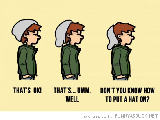 know how to wear a hat comic funny pics pictures pic picture image photo images photos lol