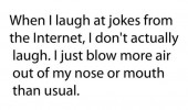 laugh jokes internet blow more air nose quote joke funny pics pictures pic picture image photo images photos lol