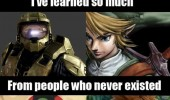 learned so much people never existed batman link zelda movie gaming funny pics pictures pic picture image photo images photos lol