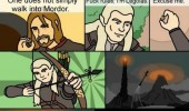 lord rings legolas arrow ring mordor movie film comic funny pics pictures pic picture image photo images photos lol