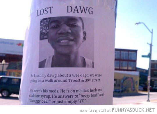 lost dawg sign poster funny pics pictures pic picture image photo images photos lol
