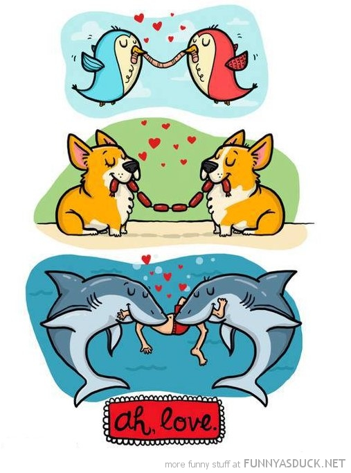 love comic sharks eating human funny pics pictures pic picture image photo images photos lol