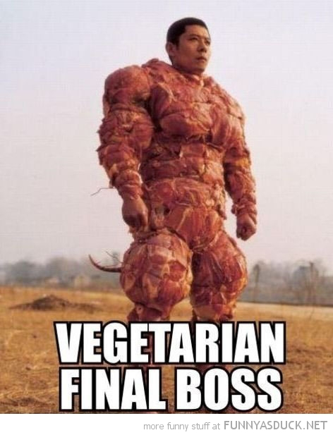 Vegetarian Final Boss