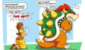 mario bowser daisy please take me comic gaming nintendo funny pics pictures pic picture image photo images photos lol