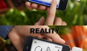 marketing writing iphone reality signature touch screen funny pics pictures pic picture image photo images photos lol
