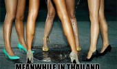 meanwhile thailand lady boys peeing street funny pics pictures pic picture image photo images photos lol