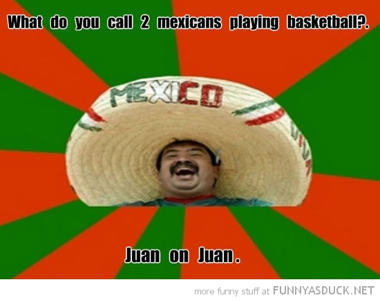 2 Mexicans Playing Basketball
