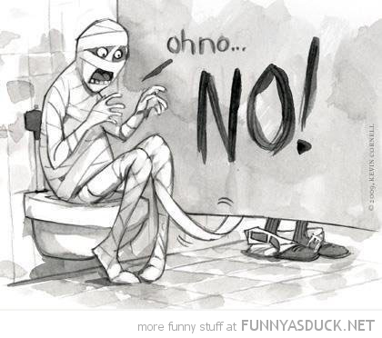 mummy toilet paper bathroom comic funny pics pictures pic picture image photo images photos lol