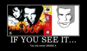 n64 goldeneye face once you see it cannot unsee gaming funny pics pictures pic picture image photo images photos lol