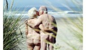 naked old people glad not on other side beach funny pics pictures pic picture image photo images photos lol