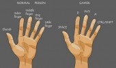 normal person gamer hand finger funny pics pictures pic picture image photo images photos lol