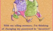 old woman password incorrect comic memory funny pics pictures pic picture image photo images photos lol