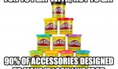 play doh not eat accessories made look like food funny pics pictures pic picture image photo images photos lol