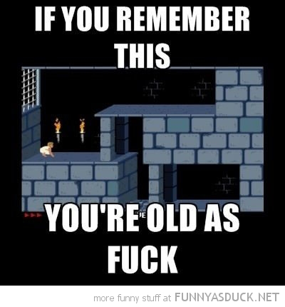 prince persia retro remember this old as fuck gaming funny pics pictures pic picture image photo images photos lol