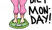 promises comic diet starts monday woman funny pics pictures pic picture image photo images photos lol