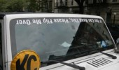 read this flip me over upside text windscreen funny pics pictures pic picture image photo images photos lol