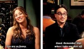 you're funny remember that take shirt off big bang theory tv funny pics pictures pic picture image photo images photos lol