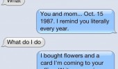 remind dad anniversary sms text iphone message funny pics pictures pic picture image photo images photos lol