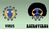 virus retrovirus 70s hippy afro funny pics pictures pic picture image photo images photos lol