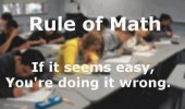 rule math easy doing it wrong funny pics pictures pic picture image photo images photos lol