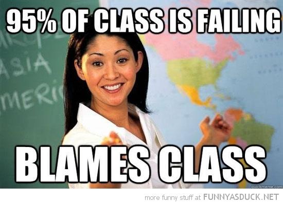 Class Is Failing