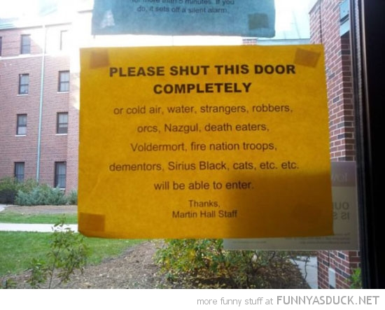 shut the door sign window funny pics pictures pic picture image photo images photos lol