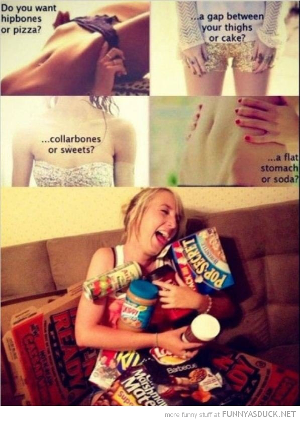 skinny girls hip bones pizza food please funny pics pictures pic picture image photo images photos lol