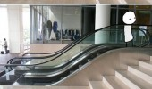 small escalator that escalated quickly funny pics pictures pic picture image photo images photos lol