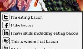 social media explained bacon funny pics pictures pic picture image photo images photos lol