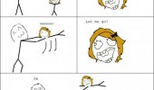 spin me around little girl cousin let go rage comic meme funny pics pictures pic picture image photo images photos lol